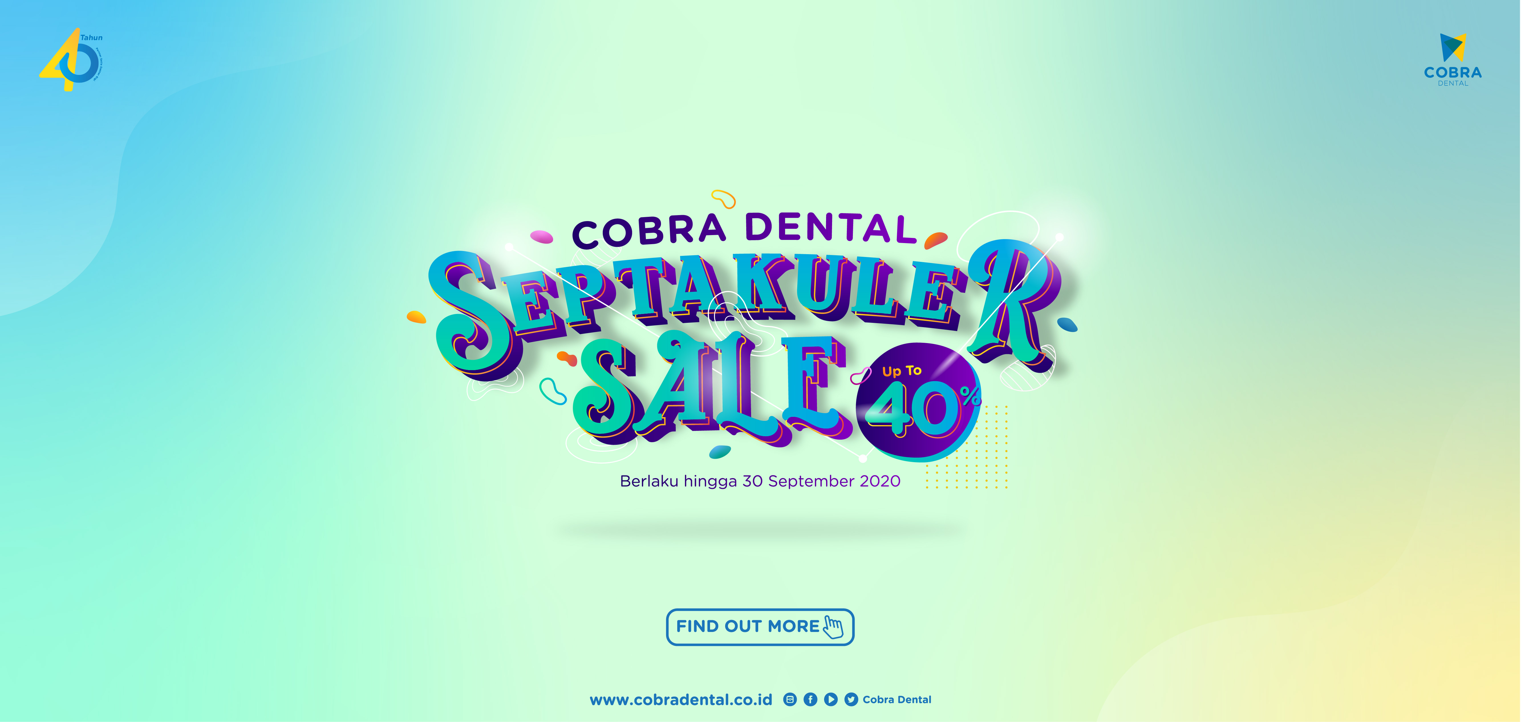 Promo September Cobra Dental - Septakuler sale
